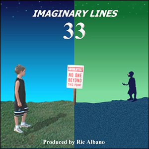 Imaginary Lines 33 cover