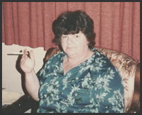 My dear ol' Mom during her smoking days