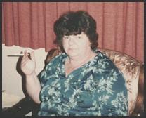 My dear ol' Mom during her smoking days